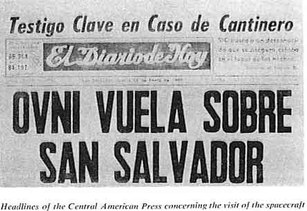 UFO San Salvador felett 1969